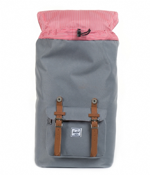 Herschel Supply Co.  Little America 15 Inch grey & tan (00006)