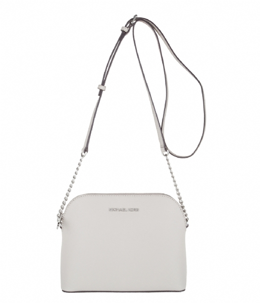 bed7b3b24992d6 ... official cindy large dome crossbody cement silver hardware michael kors  the little green bag efe49 b68b1 ...