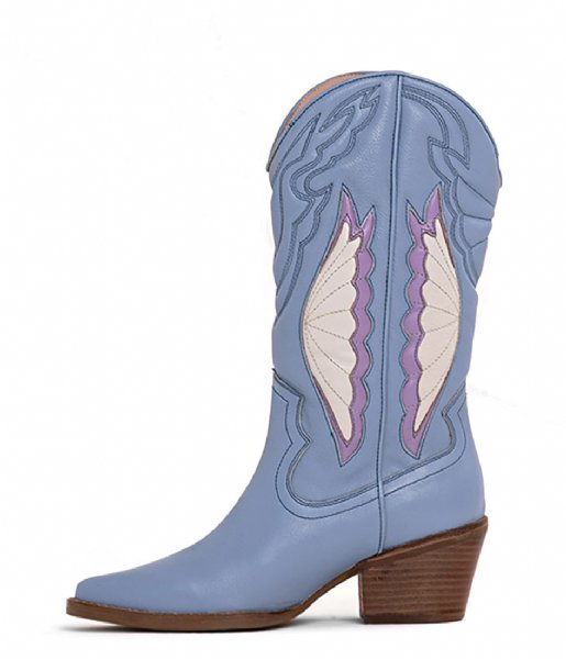 Bronx  Jukeson Ankle Boot Retro Blue Lilac (3441)